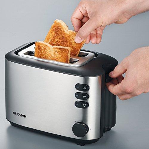 severin at 2514 toaster test 2018. Black Bedroom Furniture Sets. Home Design Ideas